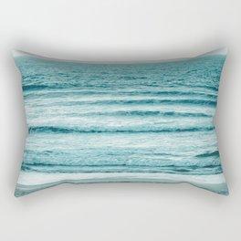 Ocean Ripples Rectangular Pillow