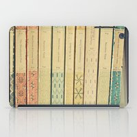 library iPad Cases featuring Old Books by Cassia Beck