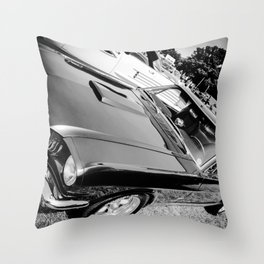 Grey at The Lawns Throw Pillow