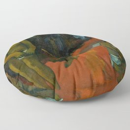 "Paul Gauguin ""Te Pape Nave Nave (Delectable Waters)"" Floor Pillow"