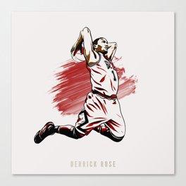 Derrick Rose Canvas Print