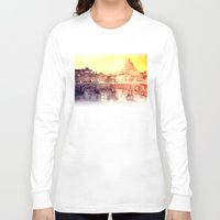 rome Long Sleeve T-shirts featuring Rome by takmaj