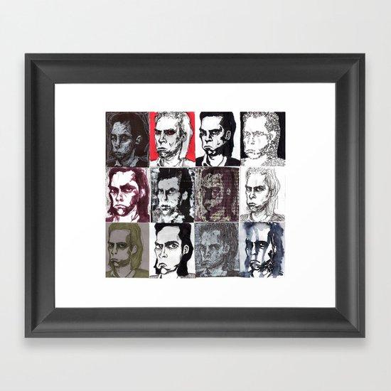 Nick Cave Galore Framed Art Print
