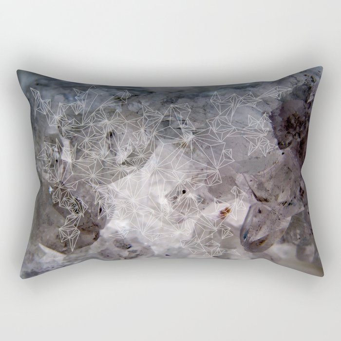Celestite Variation Rectangular Pillow