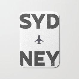 Sydney minimal Bath Mat