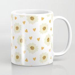 Fashion Lovely Flower Pattern Art Coffee Mug
