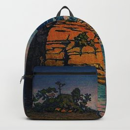 Bathing in Sunset Backpack