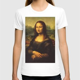 Monalisa, Leonardo Da Vinci, Mona Lisa, original T-shirt