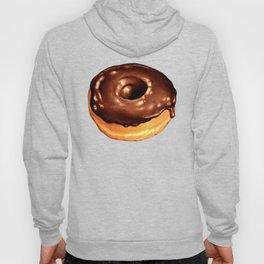 Chocolate Donut Pattern - Teal Hoody
