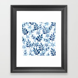 Watercolor Floral VIII Framed Art Print