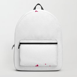 Sweet Valentines Day Love Machine Valentine Backpack