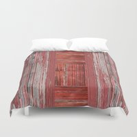 rustic Duvet Covers featuring Rustic by Mirabella Market