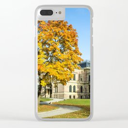 in the park... Clear iPhone Case