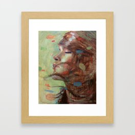 Release Framed Art Print