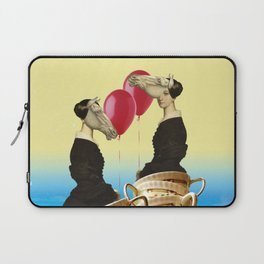 tea with sister Laptop Sleeve