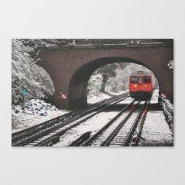 London Winter Canvas Print