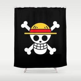 One Piece Shower Curtain