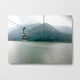 Skylift Metal Print
