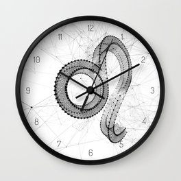 LION (Link zodiac collection) Wall Clock