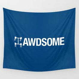 AWDSOME v5 HQvector Wall Tapestry