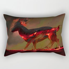 Inferno Rectangular Pillow