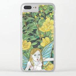 Fairy Meg Clear iPhone Case