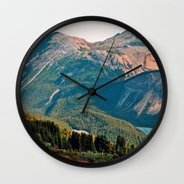 Parker Ridge Trail Wall Clock