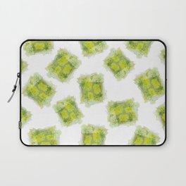 August Peridot Birthstone Series - Watercolor Laptop Sleeve