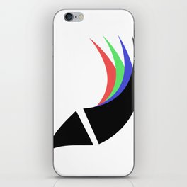 The Pen, The Bird, The Fish iPhone Skin