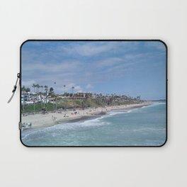 San Clemente Beach Laptop Sleeve