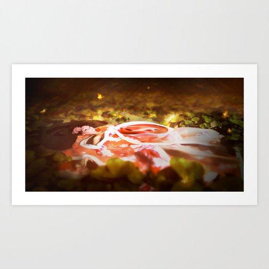 Lake of the Geisha Art Print