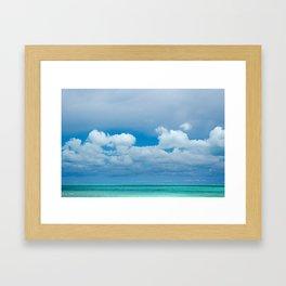 Turquoise Nature Framed Art Print
