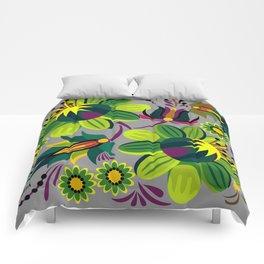 Flowers again Comforters
