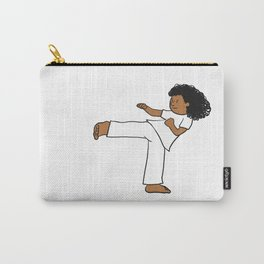 Capoeira girl Carry-All Pouch
