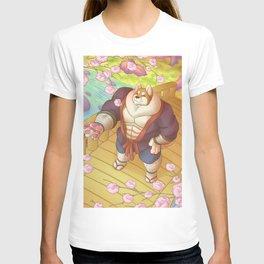 Shiba Sakura Blossoms T-shirt
