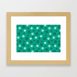 Volley Walls! Framed Art Print