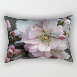 Almond flowers bouquet Rectangular Pillow