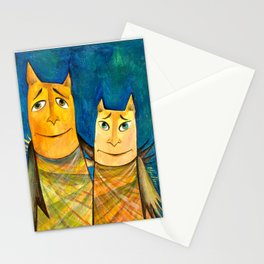 So begins the friendship Stationery Cards