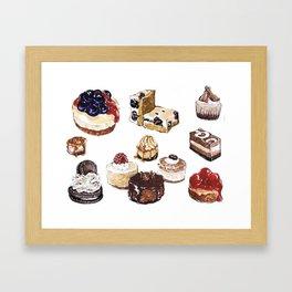 Cheesecake Framed Art Print