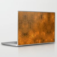 gold foil Laptop & iPad Skins featuring Gold Foil 10 by Robin Curtiss