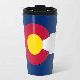 Colorado State Flag Travel Mug