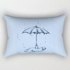 Rain Rain Go Away! Rectangular Pillow