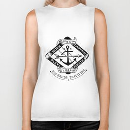 Funny Gift for Him Fishing Boating Pirate Biker Tank