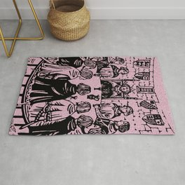 Knights of the Round Table Rug