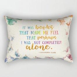 It was books Rectangular Pillow
