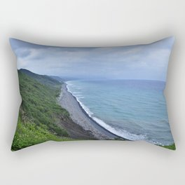 Verdant Coast Rectangular Pillow