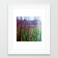 weed Framed Art Prints featuring weed by jmdphoto