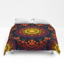 'Bohemian Summer' Multi-Coloured Mandala Comforters