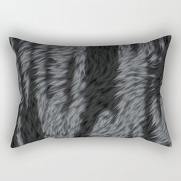 Black tiger skin Rectangular Pillow
