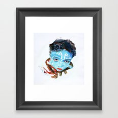 Hindu Boy Framed Art Print